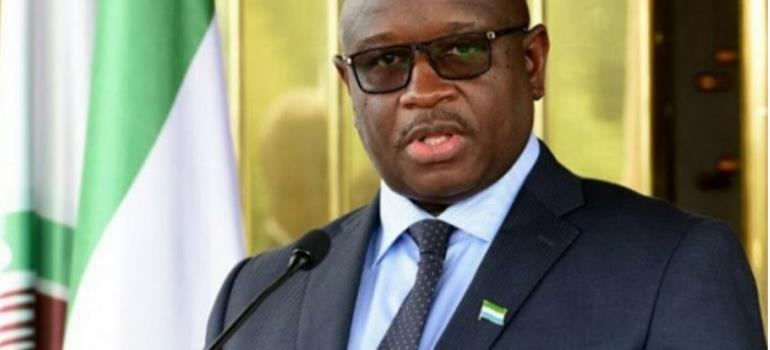President Of Sierra Leone On A Two-Day State Visit To Ghana