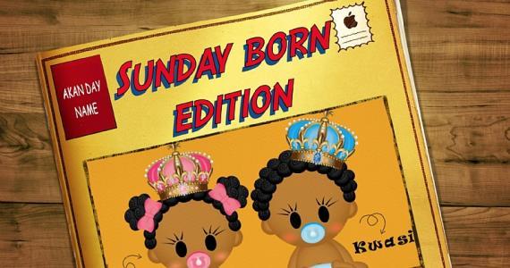 History of Akan Day Names - Sunday Edition