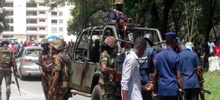 Army Deployed To KNUST