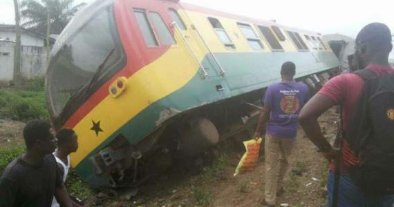Ghana Sets Up Committee To Probe Monday's Train Derailment