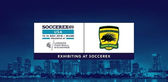 Asante Kotoko To Exhibit At 2018 Soccerex USA In Miami