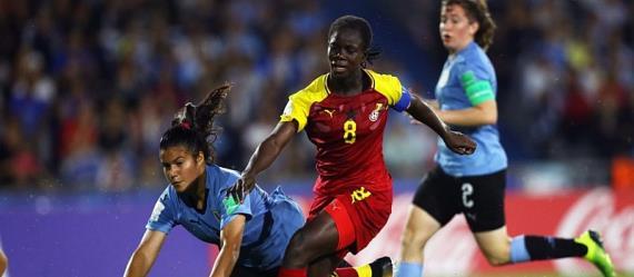 Mukarama Abdulai Wins Player Of The Match Award After Ghana Hammering Of Uruguay