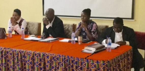 GFA Normalization Committee Meets Judicial And Standing Committee Heads, Members