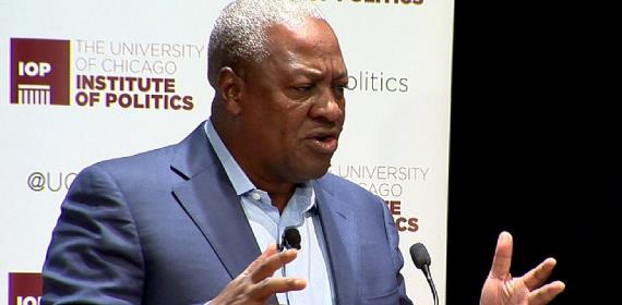 Ghanaians Are Suffering Under You - Mahama Tells Akufo-Addo