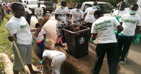 Kofi Adda Clears Misconception Insisting 'Sanitation Brigade Not 'Jobs For T