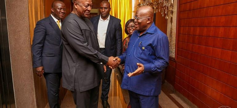 Akufo-Addo Has Failed Corruption Test - Mahama
