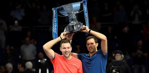 Sock and Bryan win doubles crown at ATP Finals