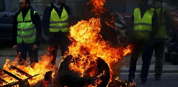 France fuel protests underline energy transition pain