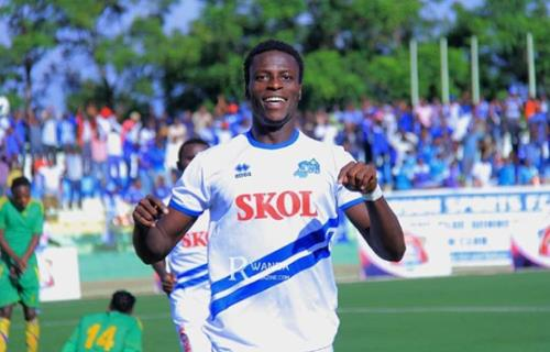 Michael Sarpong Win Player Of The Month At Rayon Sport