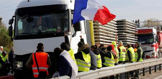 How a Facebook rant led to a national protest movement in France