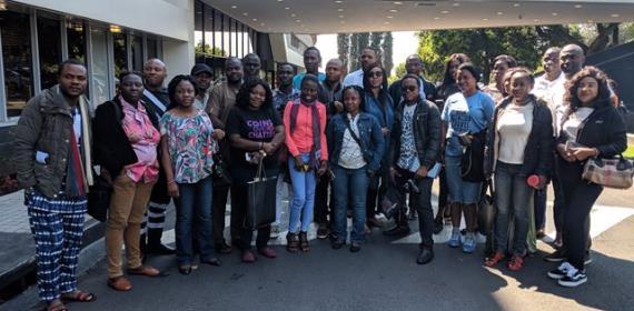 Ghana, Nigeria delegation Arrive In South Africa for Tourism Hosting