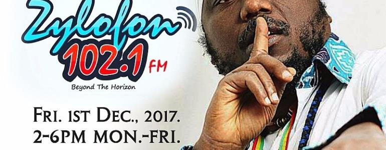 Salaga Soldier Blakk Rasta Takes Over Drive Time On Zylofon FM