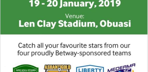 Four Ghana Premier League Teams To Compete In Betway Cup