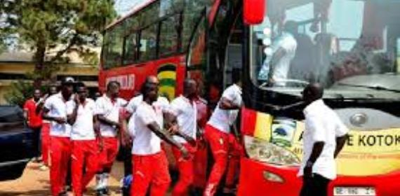 Kotoko Returns Home Today With Glory After Clashing Coton Sports