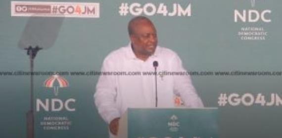 Mahama Warns NPP Ahead Of 2020 Elections