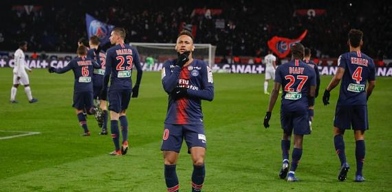 Ligue 1: PSG Put Nine Past Guingamp For Record-Breaking Win