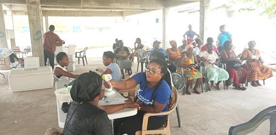 Abelemkpe Presby Church Organises Medi-Screening