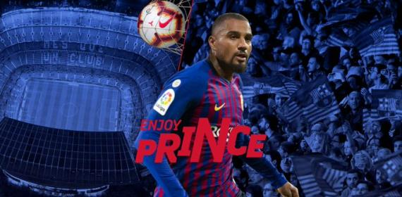 BREAKING NEWS: Barcelona Confirms Signing KP Boateng