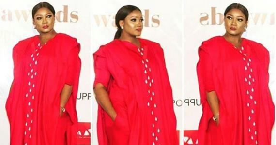Actress, Omotola Jalade Dazzles with her Outfit at the Future Awards