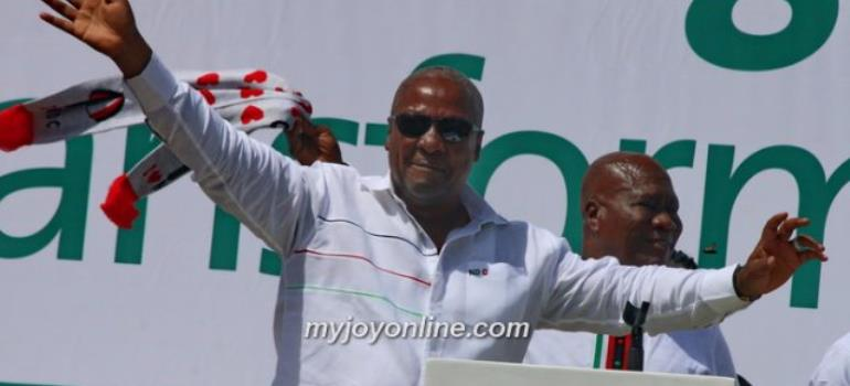 Mahama Jabs Gov't Over Medical Drone Deal