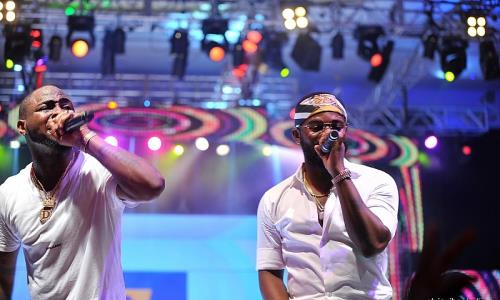 Photos: Davido, Wizkid, Don Jazzy, DBanj, Wande Coal, Falz Shine at Davido's #30BillionConcert