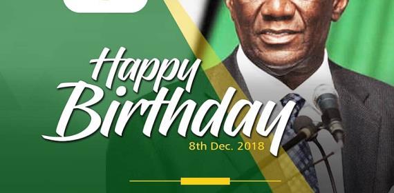 Happy Birthday Your Excellency John Agyekum Kuffour