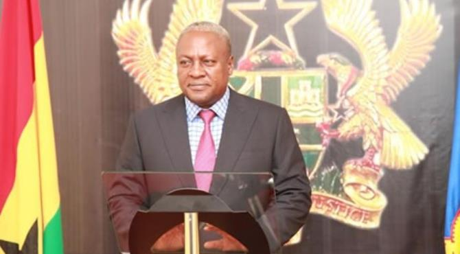 His Excellency, John Dramani Mahama