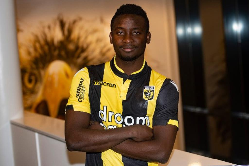 Ghanaian youngster Dauda Mohammed makes his Vitesse Arnhem debut
