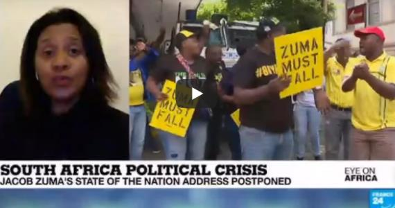 France 24 - Videos - South Africa Political crisis: Zuma's state of thenation address postponed
