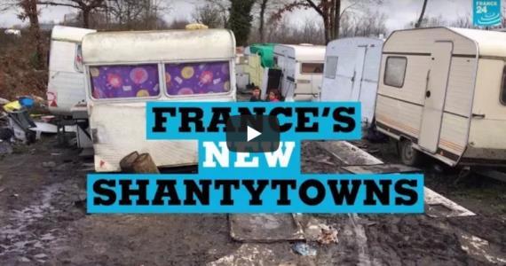 France 24 - Videos - Inside France's new shantytowns