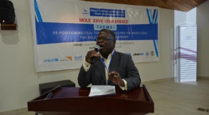 Director, Water, Ministry of Water Resources, Works and Housing (MWRWH) Mr. Emmanuel Addae