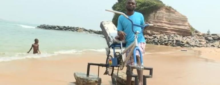 Ghanaian 'Water Bicycle' Inventor Gets University Scholarship