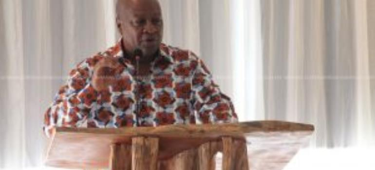 Mahama Hits Back At Gov't Over Meeting With Diplomats