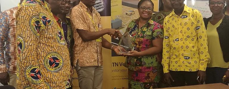 ECG Honours MTN Ghana As An Outstanding Loyal Customer