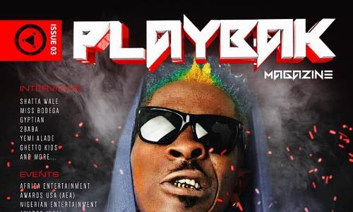 Shatta Wale Covers PlayBak Magazine