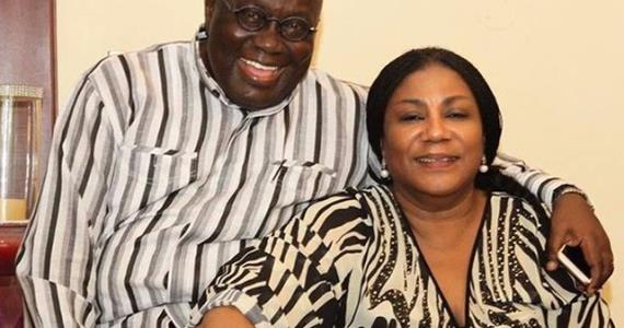 Photo: First Lady's birthday message to President Akufo-Addo