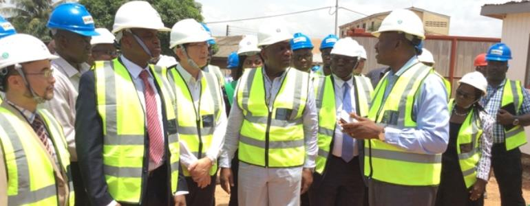 Energy Minister cuts sod for Accra power reinforcement project