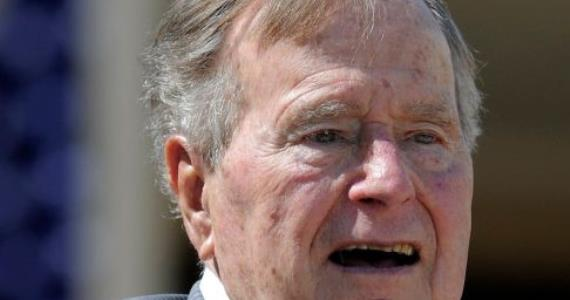 Former President George H.W. Bush hospitalized again in Houston