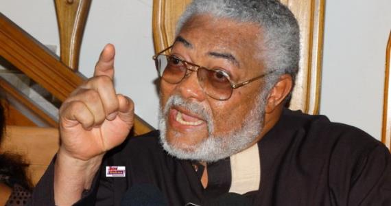 Rawlings Warns Against Dragging Him Into Buhari Affairs