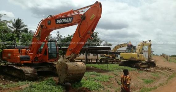 Move excavators from mining sites within 30 days – Lands Minister
