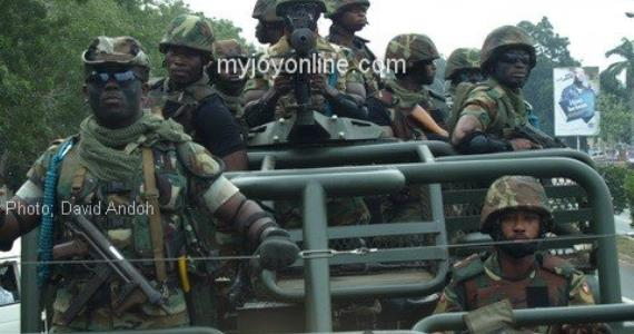 Gov't dispatches soldiers to maintain peace in Nkonya, Alavanyo