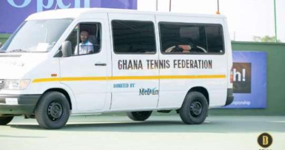 McDan donates mini bus to Ghana Tennis Federation