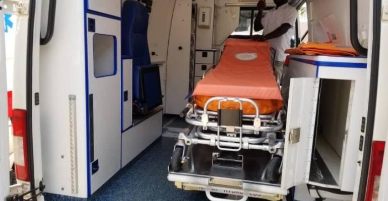 MP Donates Ambulance, Medical Accessories To Kalba Hospital