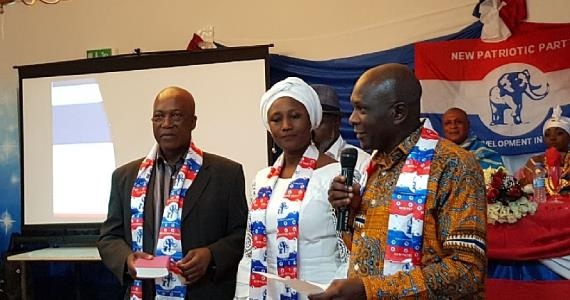 NPP Germany Swears In Rebecca Adjei-Sarpong As New Chairperson