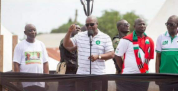 I Won't Disappoint--John Mahama Vows On Road To 2020