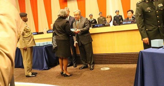 UN Honours 2 Ghanaian Peacekeepers Who Died In Action