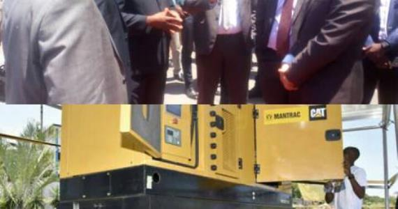 Mantrac Ghana outdoors first ever Hybrid Power-Generating Set