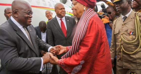 You are truly a historic figure – Akufo-Addo lauds President Johnson Sirleaf