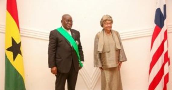 President Akufo-Addo eulogises President Johnson Sirleaf