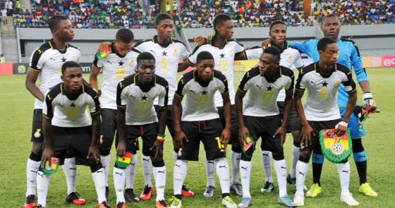 Ghana president consoles Black Starlets after CAF U17 Nations Cup final defeat